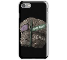 Friends: 15, Yemen Road, Yemen iPhone Case/Skin