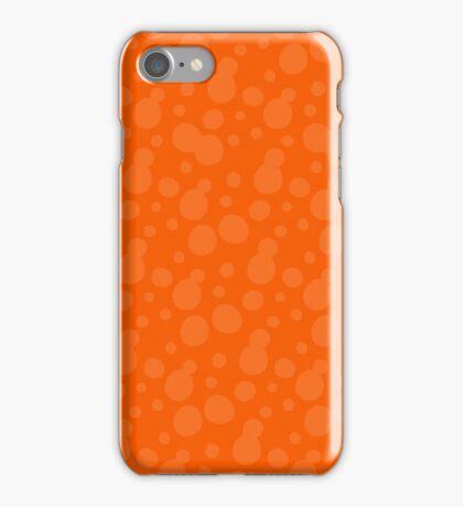 Splatoon Bubbles - Orange iPhone Case/Skin