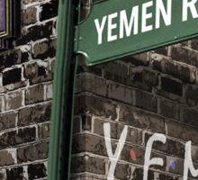 Friends: 15, Yemen Road, Yemen Sticker