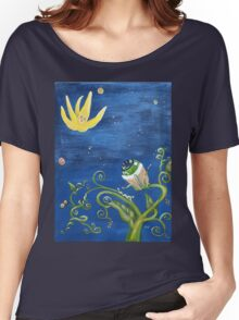 Falling Star and Venus Eye Snap Women's Relaxed Fit T-Shirt