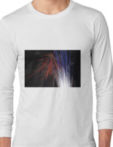 Night light sparkles a colourful delight Long Sleeve T-Shirt