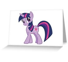 Twilight Sparkle Greeting Card