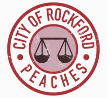 City Of Rockford Peaches by Look Human