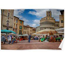 Arezzo Market Day Poster