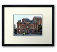 Pennsylvania Ave. - the other side. Framed Print