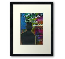 Music on His Mind Framed Print