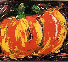 Pumpkins by Alena  Samsonov