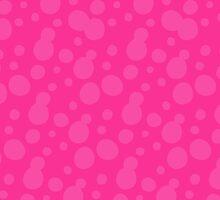 Splatoon Bubbles - Pink by NinjasInCarpets