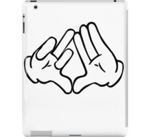 Dope Hands Triangle & Bird iPad Case/Skin