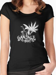 Ganjalf the White Women's Fitted Scoop T-Shirt