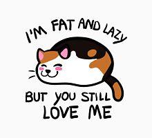 Lazy Cat, Calico Unisex T-Shirt