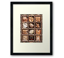 Thingies Framed Print