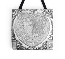 World Map 1566 Tote Bag