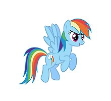Rainbow Dash by nlturk