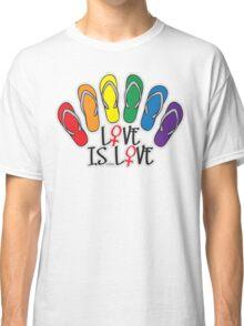 Love Is Love Lesbian Classic T-Shirt