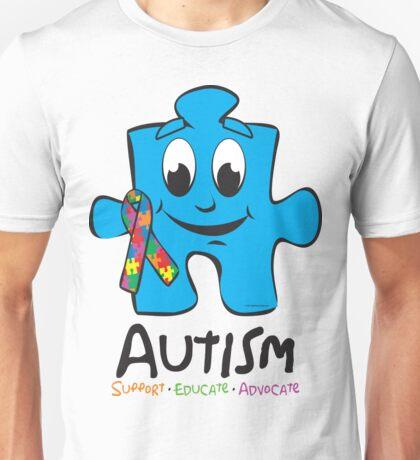 Autism Puzzle Piece Unisex T-Shirt