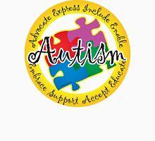 Autism Puzzle Pin Unisex T-Shirt