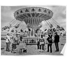Life's a carousel Poster