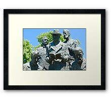 Stone Sculpture  Framed Print