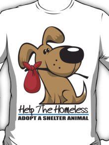 Adopt A Shelter Animal T-Shirt