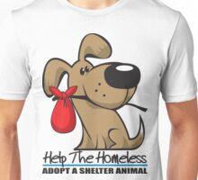 Adopt A Shelter Animal Unisex T-Shirt