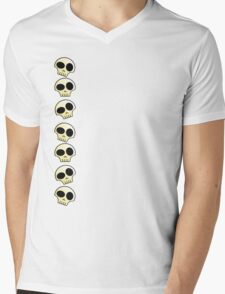 Skulls!!! Mens V-Neck T-Shirt