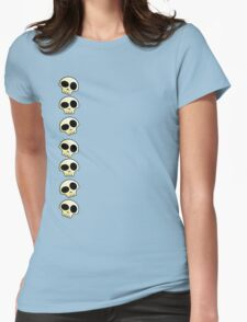 Skulls!!! Womens Fitted T-Shirt