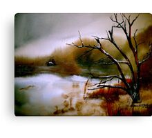 Reluctance... Canvas Print