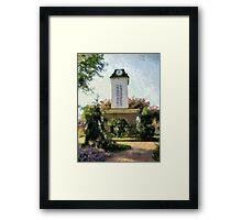Franklin Clock Tower Framed Print