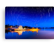 Two hours Before Dawn - Leech Lake, MN  Canvas Print