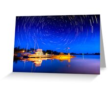 Two hours Before Dawn - Leech Lake, MN  Greeting Card