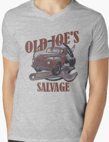 Breaking Bad Inspired - Old Joe's Salvage - Junk Yard - AMC Breaking Bad Mens V-Neck T-Shirt
