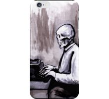 One Of Those On Whom Nothing Is Lost iPhone Case/Skin