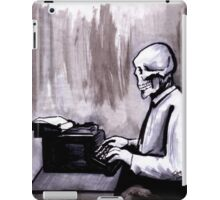One Of Those On Whom Nothing Is Lost iPad Case/Skin