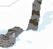 December cat Sticker