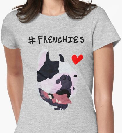 #FRENCHIES Womens Fitted T-Shirt