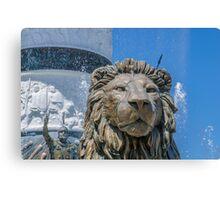 Lion Guardian Canvas Print