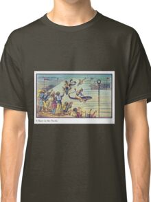 Early 20th Century images of France in 2000 - Underwater race Classic T-Shirt