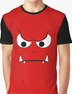 Evil Face Graphic T-Shirt