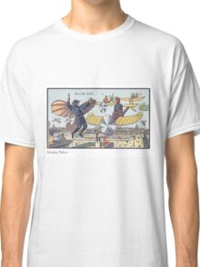 Early 20th Century images of France in 2000 - Flying Police Classic T-Shirt