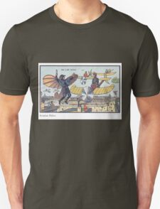 Early 20th Century images of France in 2000 - Flying Police Unisex T-Shirt