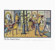 Early 20th Century images of France in 2000 - Barber by caldayjd