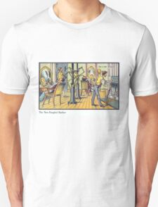 Early 20th Century images of France in 2000 - Barber T-Shirt