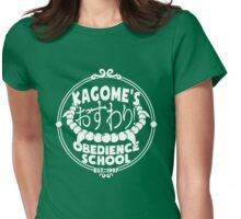 Kagome's Obedience School Womens Fitted T-Shirt