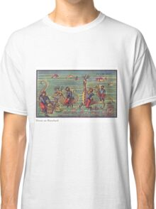 Early 20th Century images of France in 2000 - Divers on Seahorses Classic T-Shirt