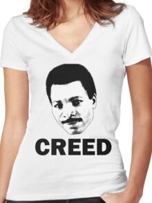 Creed Women's Fitted V-Neck T-Shirt