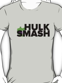 Hulk Smash! In Black T-Shirt