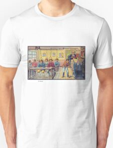 Early 20th Century images of France in 2000 - School Unisex T-Shirt