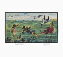 Early 20th Century images of France in 2000 - Seagull Fishing by caldayjd