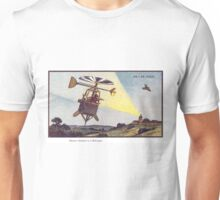 Early 20th Century images of France in 2000 - Sentinel Helicopter Unisex T-Shirt